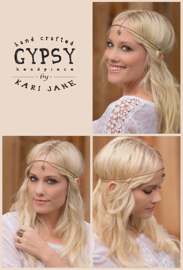 Handcrafted Gypsy Headpiece