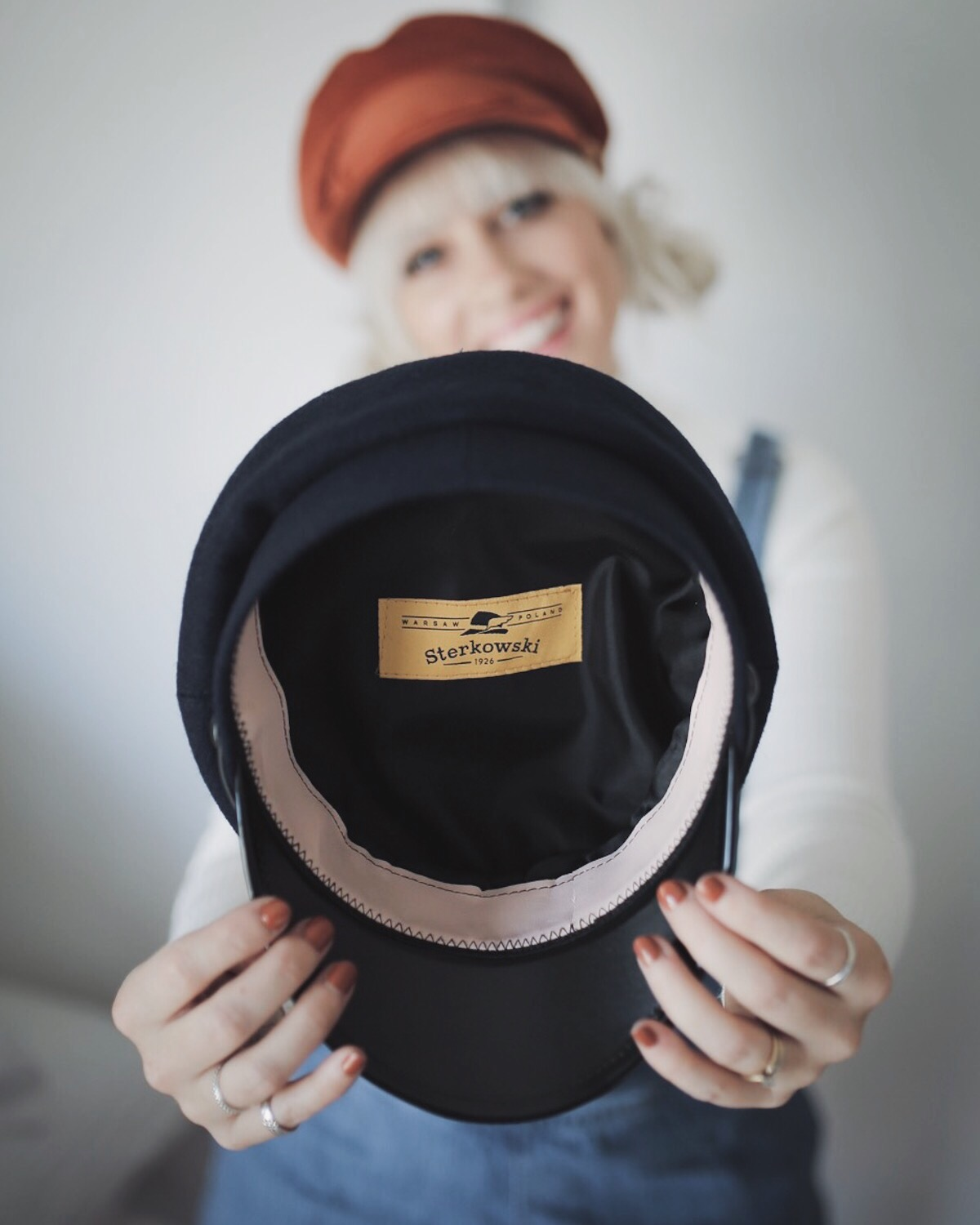 I discovered such an amazing hat company online and wanted to share it with  you all! I m so thrilled to be collaborating with Sterkowski 0b9ca1346ae